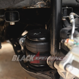 Air suspension sudah dipasangkan