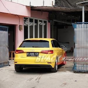 Modifikasi Simple Audi A3 Sportback, Pertajam Line Sporty