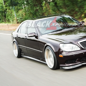 Modifikasi Mercedes-Benz S280, More Stylish and Functional