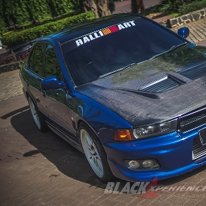 Modifikasi Mitsubishi Galant ST, Terinspirasi Fast and Furious