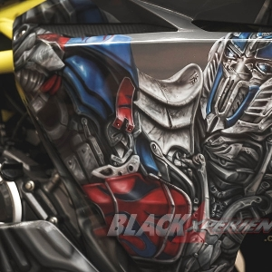 Modifikasi Honda CBR250RR, Sekuat Optimus Prime dan Seseksi Superbike Look