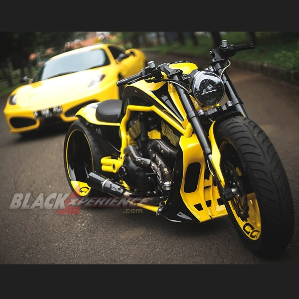 Harley Davidson V-Rod CCI - Kekar Layaknya Supercar
