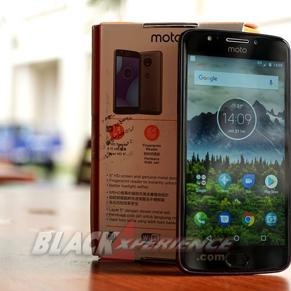 Motorola Moto E4 - Bodi Ciamik, Jepretan Foto Menarik