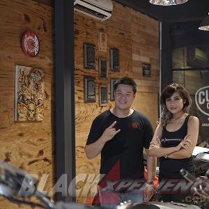 Foto sesi Ari dan Aurelia Mei