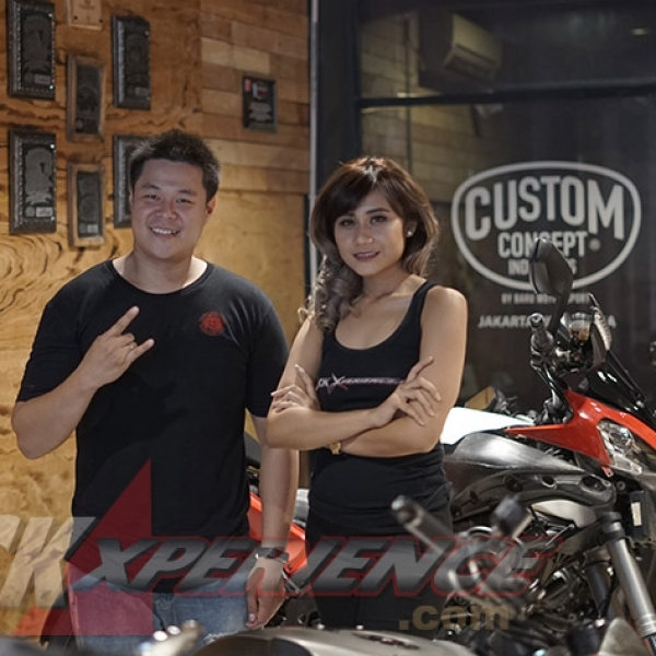 Modifikasi Harley-Davidson Cross Bones Bobber Capai Finish