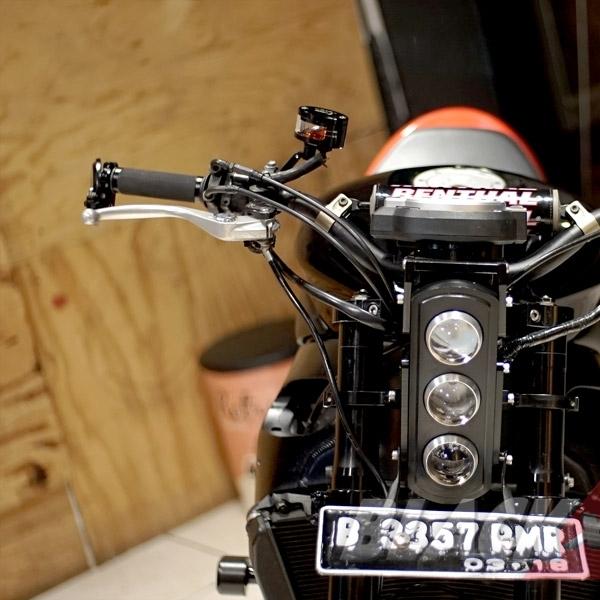 Modifikasi Scrambler Honda CBR1000
