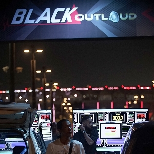 BlackOut Loud @BlackAuto Battle jakarta 2019