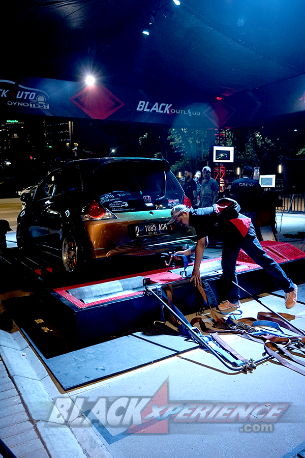 BlackAuto Dyno Test BlackOut Loud BlackAuto Battle Jakarta 2019