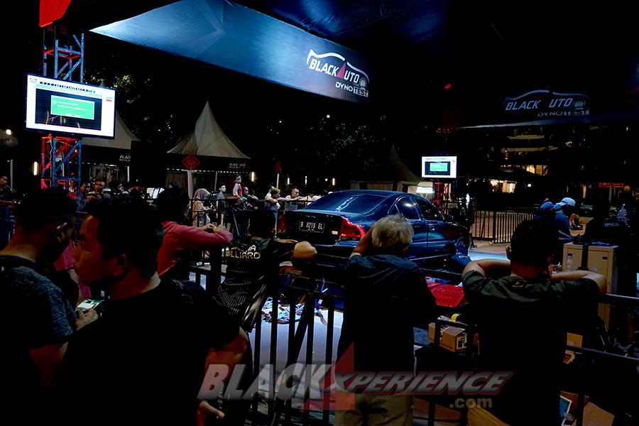 BlackAuto Dyno Test BlackOut Loud BlackAuto Battle Jakarta 2019