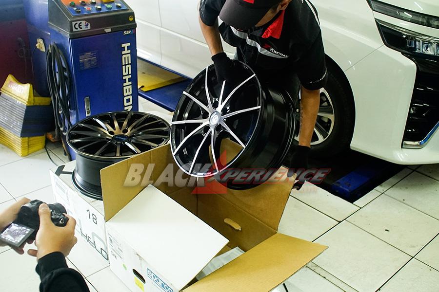 Modifikasi All New Toyota Voxy, Upgrade Kaki-kaki untuk Gaya dan Kenyamanan
