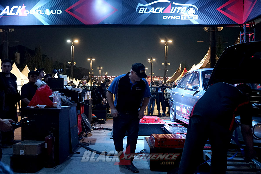 BlackAuto Dyno Test & BlackOut Loud BlackAuto Battle Jakarta 2019
