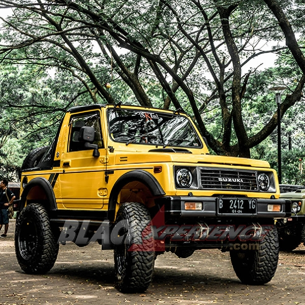 Modifikasi Jimny Sierra, Style Offroad nan Eye Catching