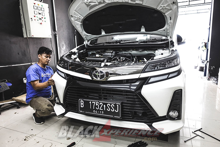 Upgrade Lampu Veloz 2019-Pakai DRL dan Running Sign Light