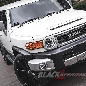 Modifikasi Toyota FJ Cruiser, Kawinkan Gaya DUB City dan VIP Untuk Harian