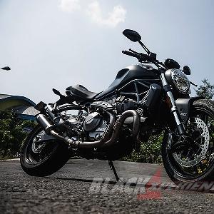 Ducati Monster 821 - Karakter Ganda