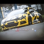 Modifikasi VW Scirocco Racing Look Yellow-Black Nyentrik Menggoda