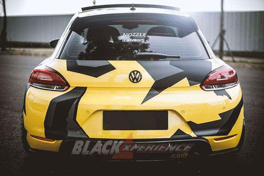 Modifikasi Vw Scirocco Racing Look Yellow Black Nyentrik
