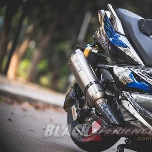Modifikasi Yamaha Xmax, Inspirasi Gundam Vidar  Jadikan Juara