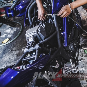 Super Maintenance Yamaha R25 2019 dan ICA System oleh JDM Project