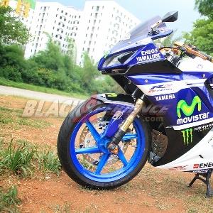 Grafis ala tim Movistar Yamaha MotoGP