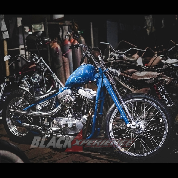 Modifikasi Harley Davidson XL 1200, Chopper yang Proper dan Berani Tampil Beda
