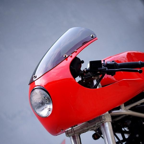 Modifikasi Ducati Monster 620: The Monster Vintage Racer