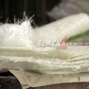 Tumpukan serat mat