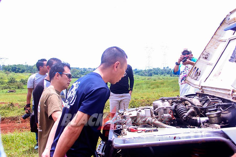 Meet and Great Pecinta Jimny dengan Juara 5 kali AXCR Satoshi Takeno