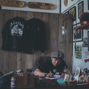 Fahmi, One of the Best Indonesia's Pinstripper