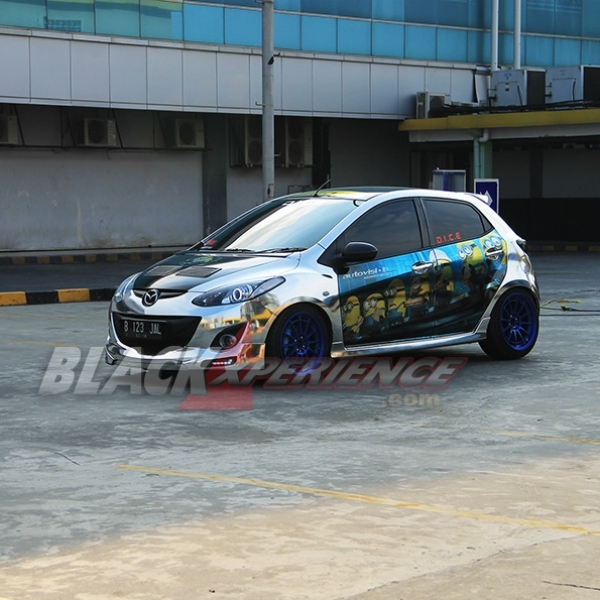 Mazda2 Street Racing Mencapai Final Modifikasi