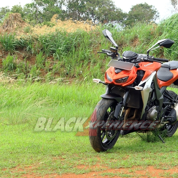 Test Ride Kawasaki Z1000 di Indonesia, Naked Bike Agresif