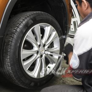 Chevrolet Trax Ganteng Maksimal dengan Sepatu Baru [Part III Kaki-kaki]