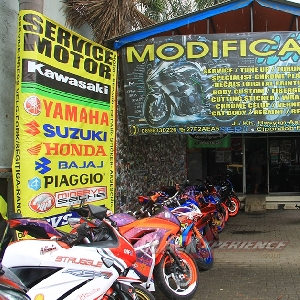 Tampak depan store & workshop Witjak Modizigner