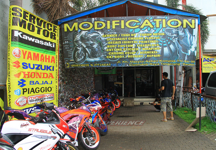 Tampak depan store & workshop Witjak Modizigner
