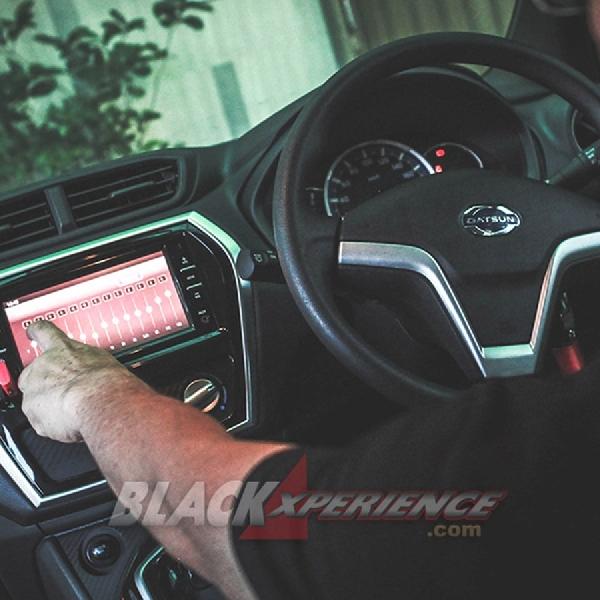 Modifikasi Audio Datsun Cross, Paket Audio Berkelas  Harga Terjangkau