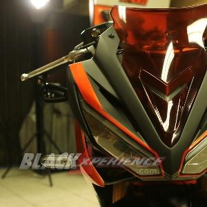 Tampak depan Honda All New CBR150R street exclusive