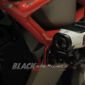 Aksesoris kamera pelengkap konsep adventure, eduro small bike