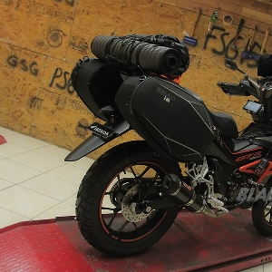 Honda All New Supra GTR150 enduro small bike, siap diajak touring