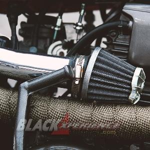Modifikasi Yamaha Scorpio: Scrambler Kriegs Maschine
