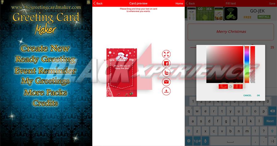 3 Aplikasi Android Pembuat Kartu Natal Terbaik