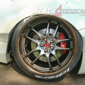 Velg belakang Work Wheels CR2P Stancenation Edition 056/100 R19
