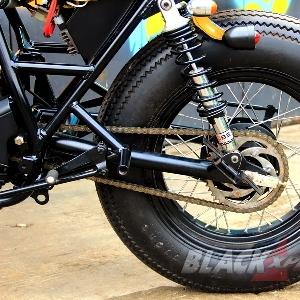 Swing arm custom dengan besi seamless diameter 41