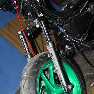 Rencananya Donking akan mempertahankan velg asli Yamaha NMax