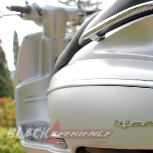 Identitas Peugeot Django di Bodi Samping