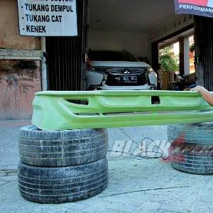 bakal calon bumper belakang custom Mitsubishi All New Pajero Sport Dakar