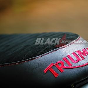 Modifikasi Triumph Bonneville Berwajah Scambler