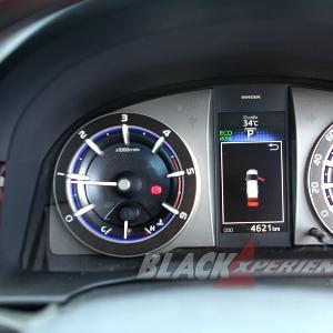Indikator kecepatan mewah dan fungsional