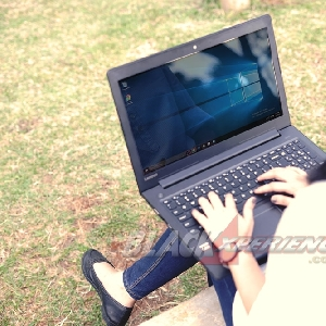 Keyboard Ideapad 310 nyaman digunakan dan empuk