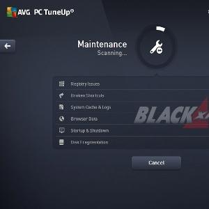 Maintenance AVG TuneUp