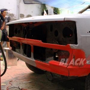 Proyek modifikasi restorasi Toyota Corolla DX